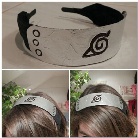 How To Make A Paper Headband - diy headband the quot metal quot part is from aluminium