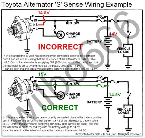 toyota alternator wiring diagram for 1993 toyota free