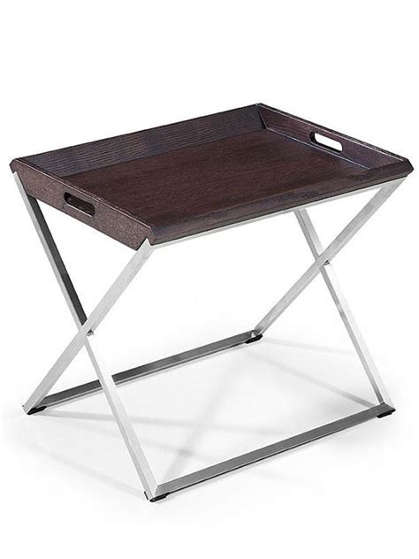 Tray Side Table by Wenge Wood Tray Side Table Modern Furniture Brickell
