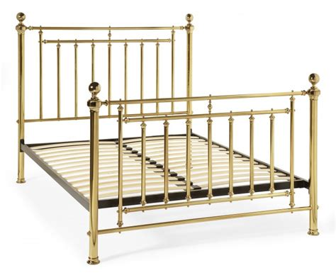 Serene Solomon 5ft King Size Brass Metal Bed Frame By Brass Bed Frame King Size
