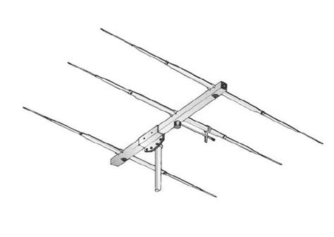 Antena Sigma sigma3ecb sigma antena directiva tipo yagi 3 elementos cb