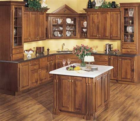 Chocolate Cherry Cabinets by Starmark Cabinetry Hanover Door Style In Cherry Finished