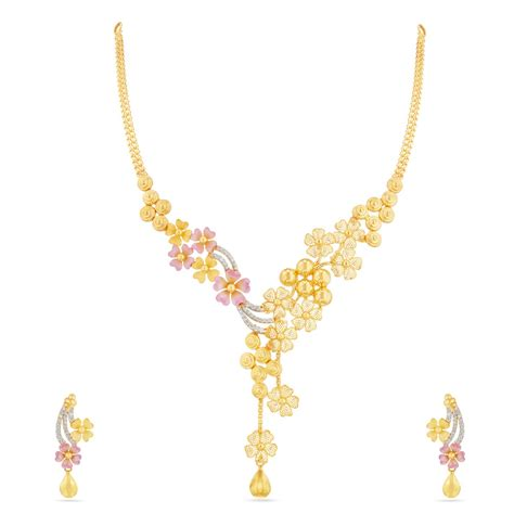 light weight gold necklace designs with price www imgkid