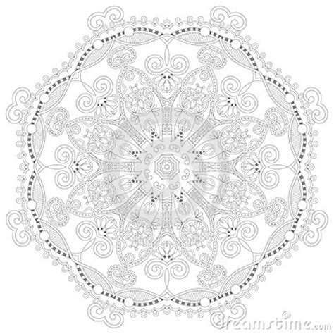unique for adults unique coloring book square page for adults stock vector