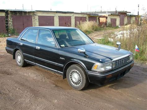 1990s Toyota 1990 Toyota Crown Pictures 1988cc Gasoline Fr Or Rr