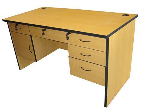 Desk Edging by Soho Belgium Office Table W 6 Drawers Groumet Pvc