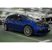 VW Golf R MK VI With OZ Rims And Carbon Fibre Hood  YouTube