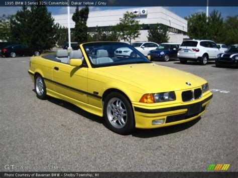 1995 bmw 325i convertible 1995 bmw 3 series 325i convertible in dakar yellow photo