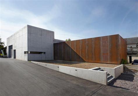 Modern House Architecture bildergalerie zu neubau f 252 r weingut in der s 252 dpfalz