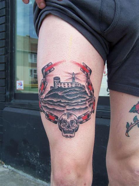 san francisco tattoo alcatraz san francisco alcatraz