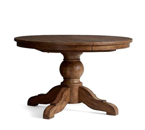 sumner extending pedestal dining table sumner extending pedestal dining table rustic mahogany