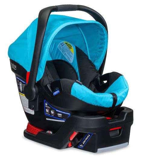 infant car seat brands britax b safe 35 infant car seat in cyan brand new ebay