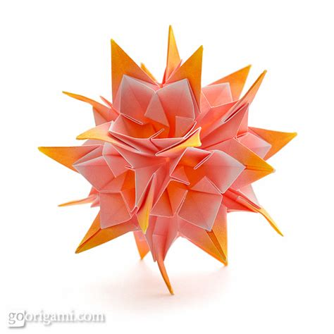 Origami On The Go - kusudama origami go origami
