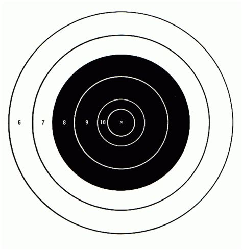 printable free rifle targets free printable shooting targets pdf