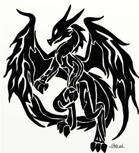 dragon tribal 2 by crazy cat009 on deviantart