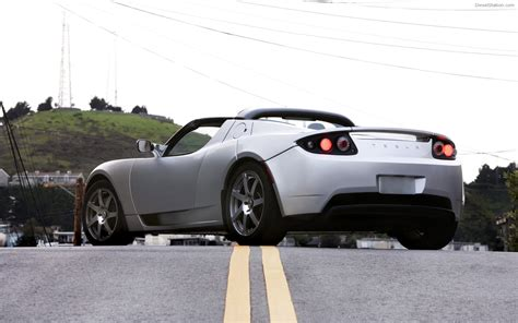 Pics Of Tesla Cars Tesla Roadster Sport Widescreen Car Image 04 Of 72