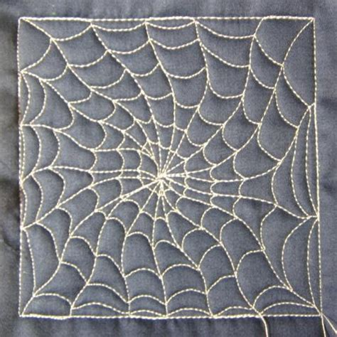 web quilt pattern the free motion quilting project day 52 spider web