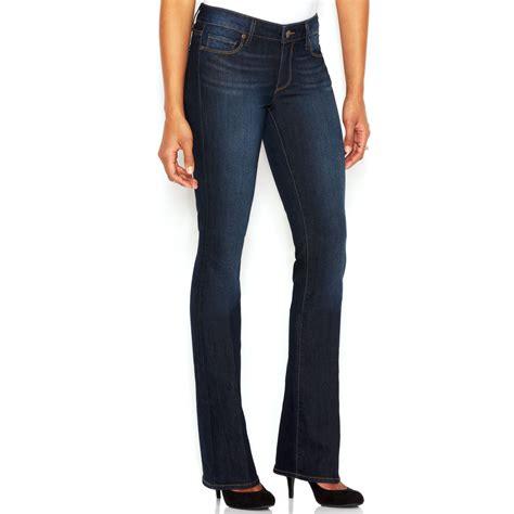 paige petite jeans paige paige petite manhattan bootcut jeans in blue