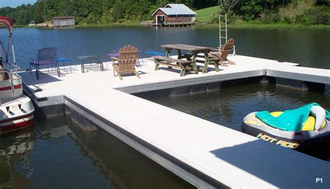 pier vs dock flotation systems boat dock pier and platform gallery