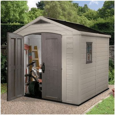 Plastic Shed Base Review by Keter Sheds The Keter Apollo Plastic Shed