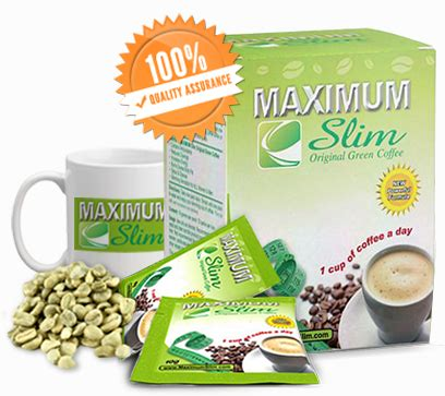 Detox Green Coffee Slim Your by Maximum Slim Original Green Diet Coffee