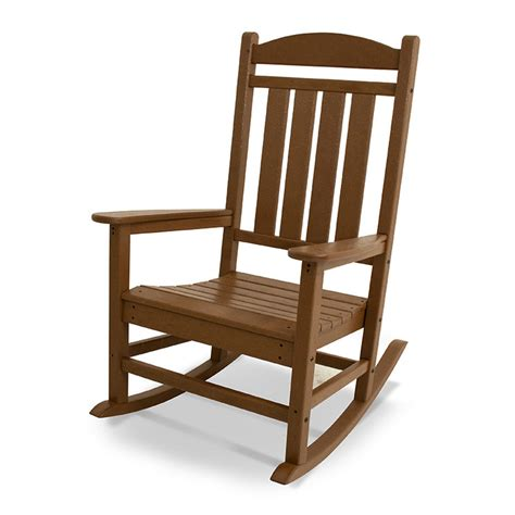 polywood presidential white plastic patio rocking chair recycled plastic outdoor rocking chair polywood
