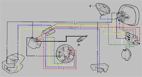 vespa p125x wiring diagram vespa ciao elsavadorla