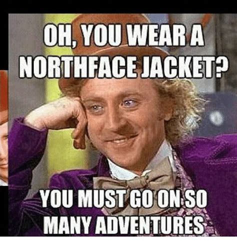 wear  north face jacket   coon