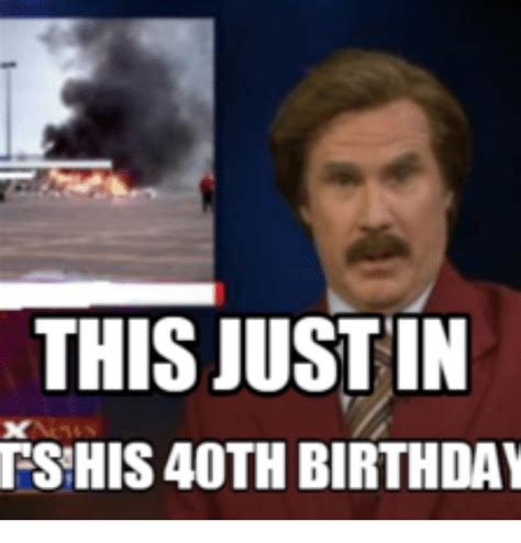 40th Birthday Meme - this justin tshis4oth birthday justine meme on sizzle