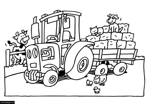 tractor coloring pages preschool free tractor tom coloring pages