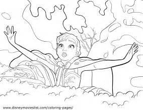 disney frozen elsa coloring