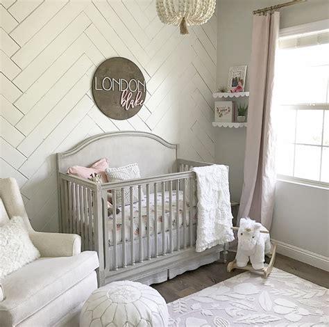 Baby Room Wall - sweet baby nursery project nursery