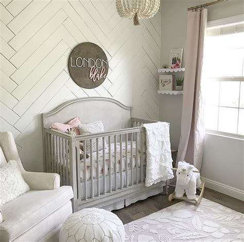 Sweet baby girl nursery project nursery