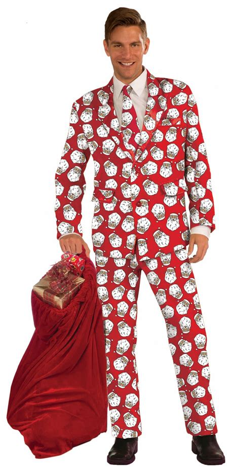 christmas mens wear santa tuxedo costume 64 99 the costume land