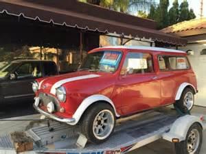 Mini Cooper Truck 1967 Classic Mini Cooper Panel Australian Mail Truck Rhd