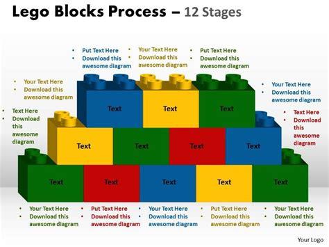 Lego Graphic 12 skillfully designed business presentation showing lego