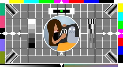 test pattern cards bbc test card wallpaper