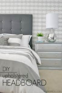 Diy Padded Headboard Projects by Best 25 Foam Headboard Ideas On Diy Fabric