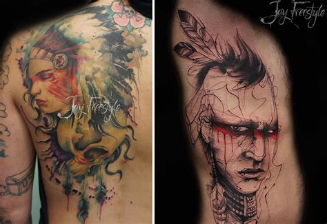 see how this artist creates amazing tattoos without