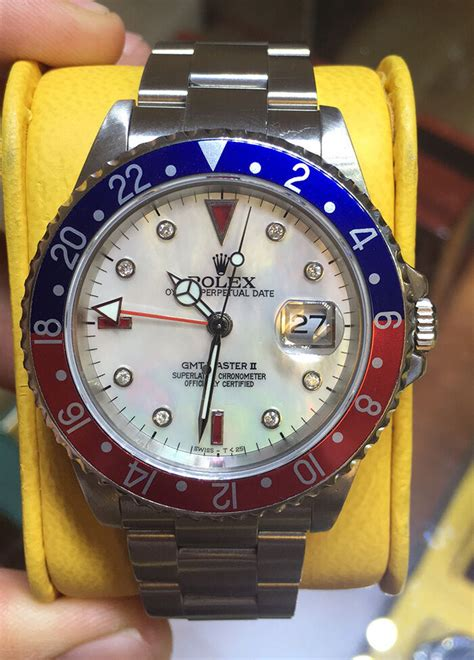 Rolex Gmt Automatic By Willy Shop rolex mens gmt master ii steel with pepsi bezel