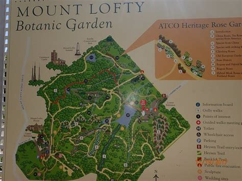Mount Lofty Botanic Garden Greater Adelaide All You Botanic Gardens Adelaide Map