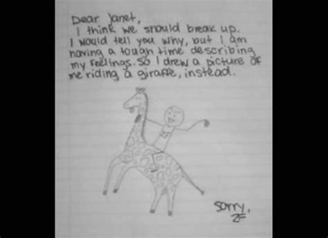 ultimate breakup letter 10 best breakup letters images on stuff