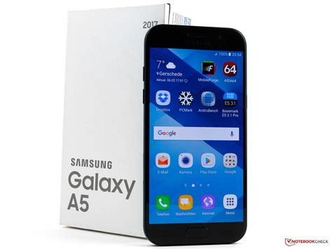 Samsung Galaxy A5 Samsung Galaxy A5 2017 Smartphone Review Notebookcheck