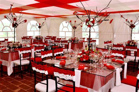 imagenes bodas en blanco y rojo fotos de decoraci 243 n de bodas en rojo