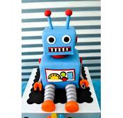 Cake On Pinterest Robot Cupcakes Rocket And Ship Cakes