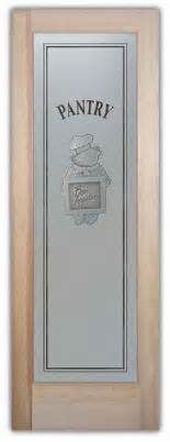 Pantry Sign For Door by Pantry Doors Glass Frosted Door Chef Pig Sign Bon