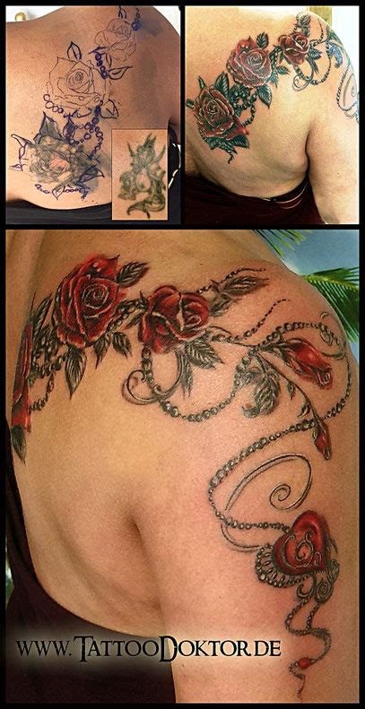 tattoo cover up app tattoodoktor l 252 beck rostock galerie reparatur cover