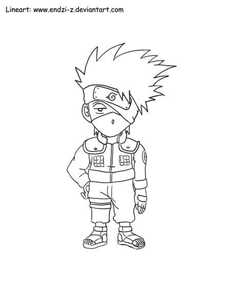 anime naruto coloring pages luiscachog me kakashi chibi by endzi z on deviantart