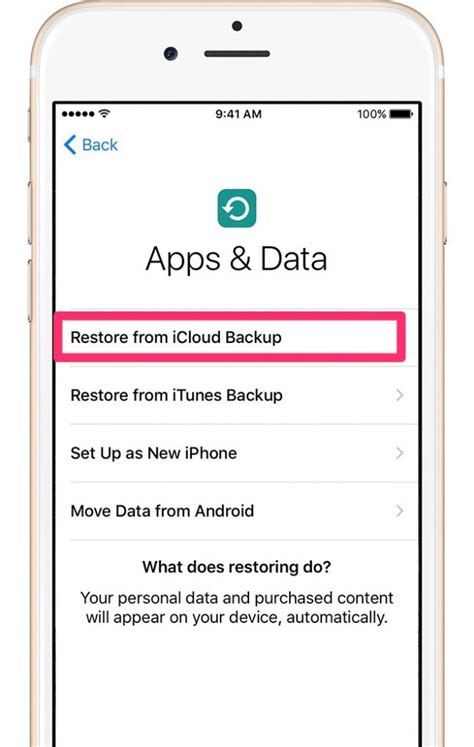 online reset iphone 5 how to restore iphone from icloud backup easy step by