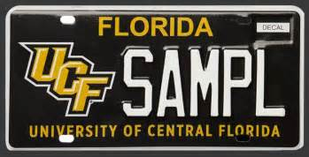 order your florida custom license plates ucf your